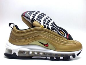official photos 2254c 867e7 Image is loading NIKE-AIR-MAX-97-OG-QS-METALLIC-GOLD-