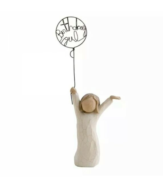 Willow Tree Figurine BIRTHDAY GIRL Susan Lordi Demdaco #26164 *NEW Without Box*