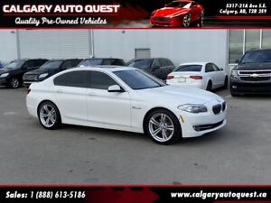 2013 BMW 5 Series 528i xDrive AWD NAVI/B.CAM/LEATHER/ROOF