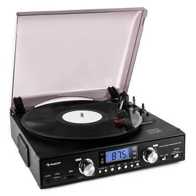 [B-WARE] USB PLATTENSPIELER TURNTABLE MP3 ENCODING RADIO TUNER LAUTSPRECHER SD K