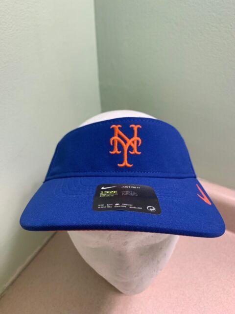ee21464ba4de5 Nike MLB New York Mets Aerobill Visor Hat Vapor DRI-fit Cap Unisex ...