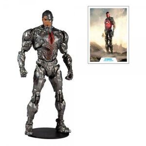 DC Justice League Movie Actionfigur Cyborg 18 cm