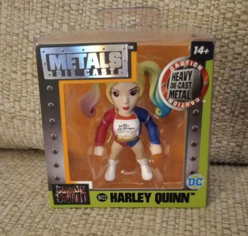 ans Metals Die Cast Suicide Squad Harley Quinn M423 Neuf//Scellé 14