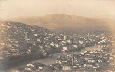 Veles Gesamtansicht , Moschee Orig. Foto 1916