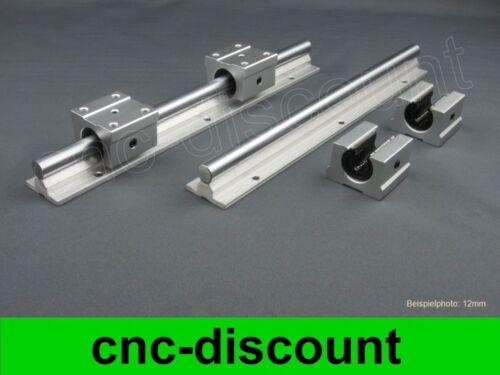 Cnc set 12x 250mm linear liderazgo linear Guide Rail Stage 3d