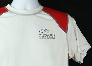 e7a612dd179a3 SUBARU WEST COAST TRIATHLON SERIES New Balance Mens Medium T-Shirt ...