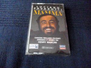 MC KASSETTE Luciano Pavarotti MAMA Chansons Italiennes HENRY MANCINI sealed NEW