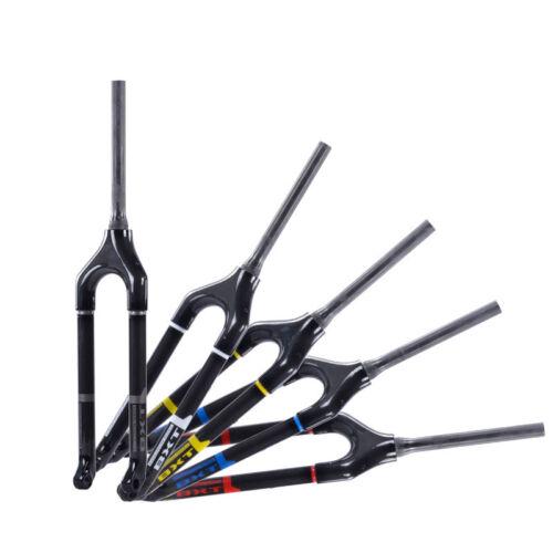 29er 27.5er 26er Full Carbon Mtb Fork Tapered Thru Axle 15mm Mountain Bike Forks