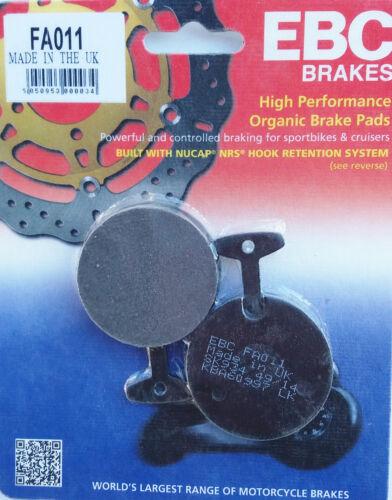 Original EBC Bremsbeläge brake pads hinten FA011 Yamaha
