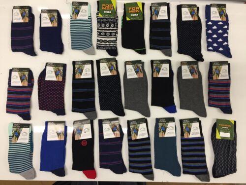 50 PAIRS MEN/'S MIX SOCKS COTTON RICH  FORMAL SOCKS UK  size     6-11 NBMFDN