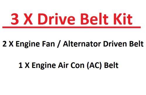Mazda Pick Up BT50-2.5TD 08//2006+ 3.0TD Engine Fan//Alternator AC Belts