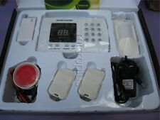 SECURITY WIRELESS Phone AUTODIAL HOME HOUSE OFFICE BURGLAR INTRUDER ALARM SYSTEM