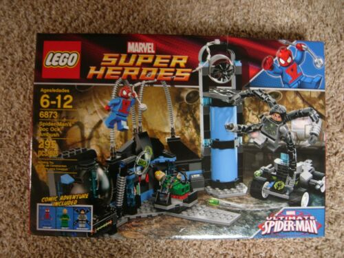 LEGO SUPER HEROES MARVEL SPIDERMAN/'s DOC OCK AMBUSH SET # 6873 NEW