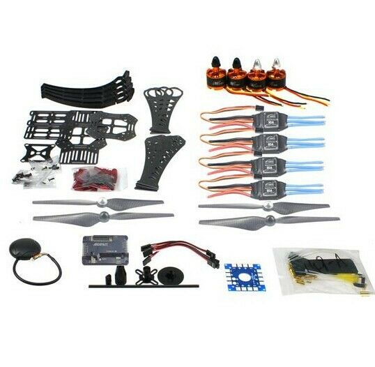 DIY RC Drone Quadrocopter X4M360L Frame Kit with GPS APM 2.8 Motor ESC F14892-A