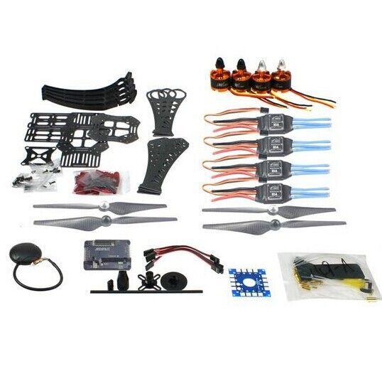 DIY RC Drone Quadrocopter X4M360L Frame Kit with GPS APM 2.8 Motor ESC F14892-A