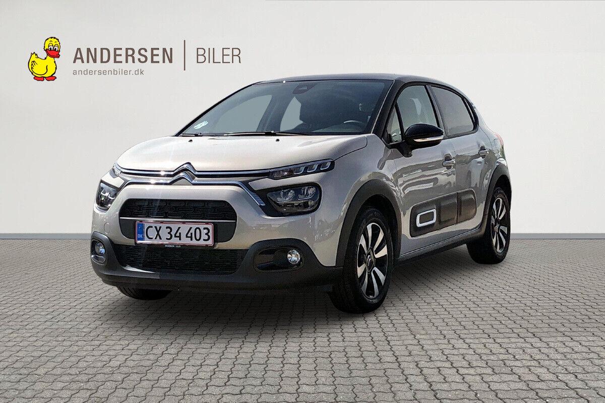 Citroën C3 1,5 BlueHDi 100 Shine 5d - 163.900 kr.