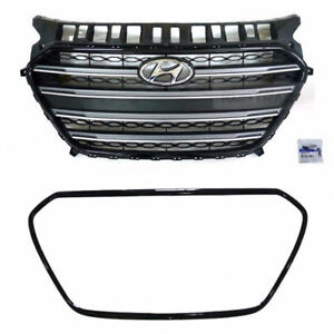 OEM-Parts-Front-Radiator-Hood-Grille-Assy-for-HYUNDAI-2013-2016-Elantra-GT