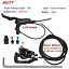 Electric Scooter E-Bike Hydraulic Disc Brake Right Set 140 160 180mm Power-Off