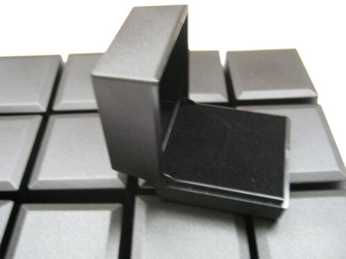 WHOLESALE 25 x BLACK RING BOXES GREAT FOR JEWELLERY CRAFT PRESENTATION