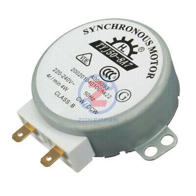 Drehteller Synchronmotor für Mikrowelle TYJ50-8A7 AC 220V-240V 4RPM 4W CW CCW