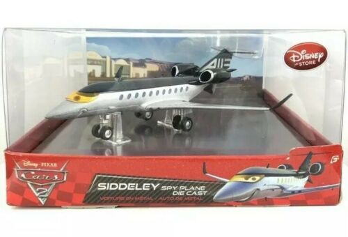 DISNEY PIXAR CARS DIECAST SIDDELEY SPY PLANE BRAND NEW SEALED