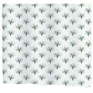 """Carnation Home Extra Wide /""""Dots/"""" Fabric Shower Curtain"""