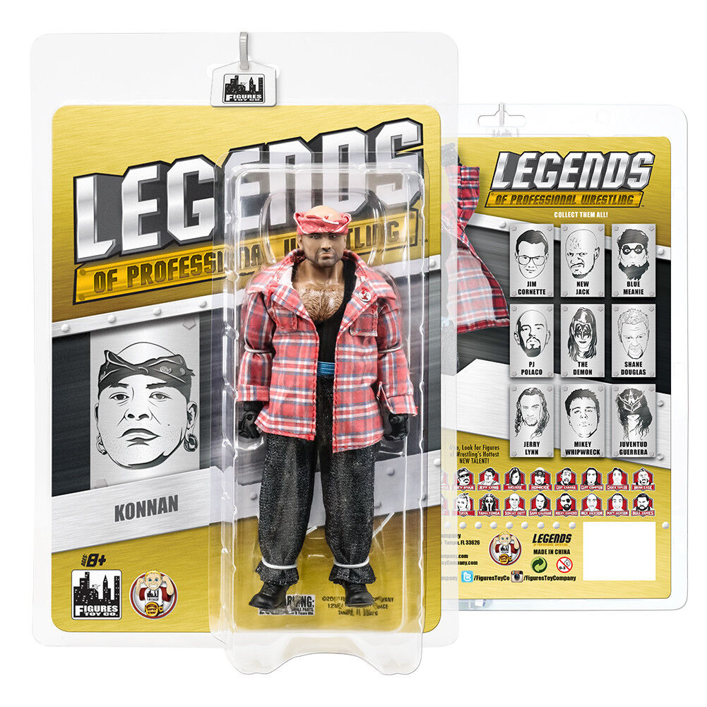 Legends of Professional Wrestling Series Action Figures  Konnan