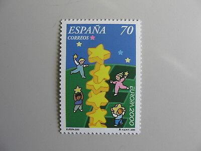 2000 Spanien Aus Dem Ausland Importiert Cept-europa Einzellwerte Postfrisch/mnh** Angemessener Preis