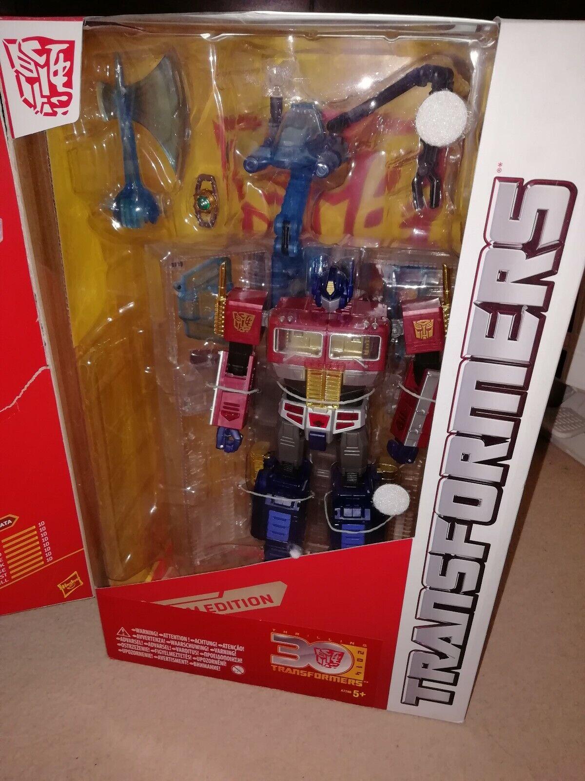 HASBRO Transformers PLATINUM Anno del Cavallo capolavoro OPTIMUS PRIME Takara