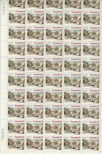 Canada-Scott-652-MNH-Plate-Sheet-Christmas-1974