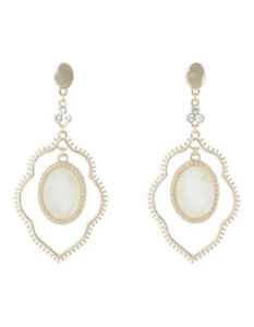 NEW Piper Aurora Druzy Drop Earring Gold