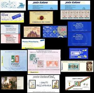 Italia-1980-2011-Libretto-Libretti-inserzione-multipla-acquisti-singoli