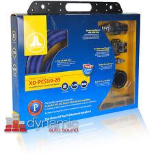 JL AUDIO® XD-PCS4-1B 4 AWG GAUGE SINGLE CAR AMPLIFIER AMP WIRE INSTALL KIT PCS4