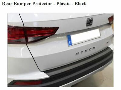 Rear Bumper guard//Scratch Protector fit for Seat Ateca 2016