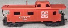 Santa Fe  A.T.&.S.F. Caboose 7240 Tyco Red Box No.T327-J  HO Vintage C 1961 Rare