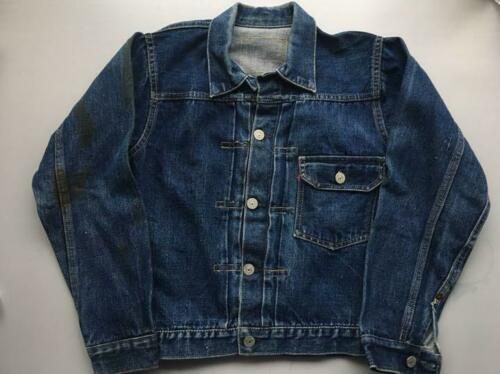 1940's Vintage LEVI'S 506XX 1st Blue Denim Jacket