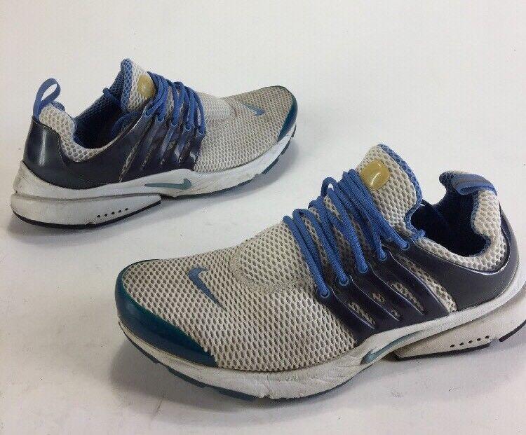 Mens 2002 Nike Air Presto Primo Distressed Shoes Blue White Comfortable Casual wild