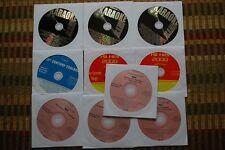 10 CD+G DISCS ROCK & OLDIES KARAOKE GUNS N ROSES,ROBERT PALMER,QUEEN CDG 30g