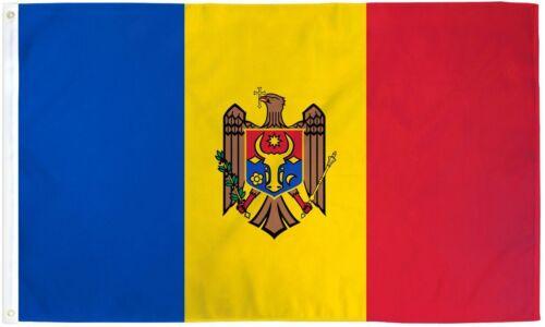 """MOLDOVA 3X5/' FLAG NEW 3/'X5/' 3 X 5 FEET 36X60/"""" BIG"""