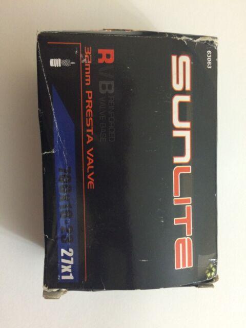 Sunlite Thorn Resistant Bicycle Tube 700 x 18-23c//27 x 1 Presta Valve 32mm