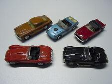 5 x seltene Sportwagenmodelle von diversen Marken 1:43