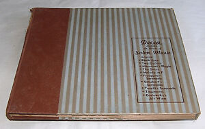 Rare-78-RPM-Decca-Salon-Musique-Orchestra-Harry-Horlick-5-Record-LP-Set-Album-14