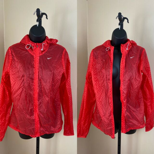 Nike Cyclone Vapor Lightweight Laides Running Jacket SZ M ...