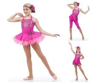 Image is loading Pinkalicious-Pant-Tutu-Skirt-Leotard-Ballet-Jazz-3- 8da7b3b2942