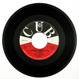 STEREOS-I-Really-Love-You-Please-Come-Back-To-Me-7IN-1961-DOO-WOP-VG