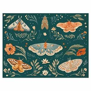 Americanflat 500 Piece Butterfly Puzzle,18x24 In, Winged Study Art by Wild Apple