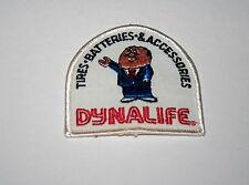 3 Vintage Dynalife Tires Batteries Automotive Cloth Patch 1970s Store NOS New