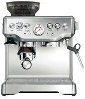 Breville The Barista Express Cappuccino Espresso Coffee Machine Maker Bes870
