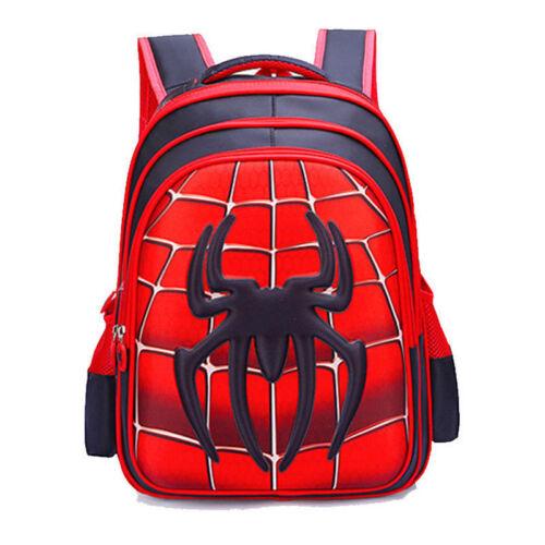 Spider-Man Backpacks Homecoming School Bags Satchel for Boys Kids Children Bag