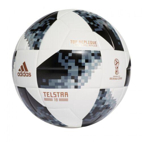 adidas Telstar 18 Top Replique WM 2018 Fußball Größe 4 5 weiß//schwarz CE8091